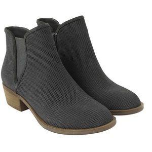kensie Women's GERONA Ankle Boot, Grey, 8.5 M US
